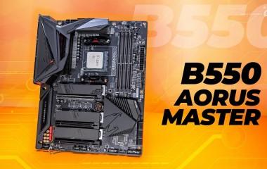 Gigabyte B550 Aorus Master Review