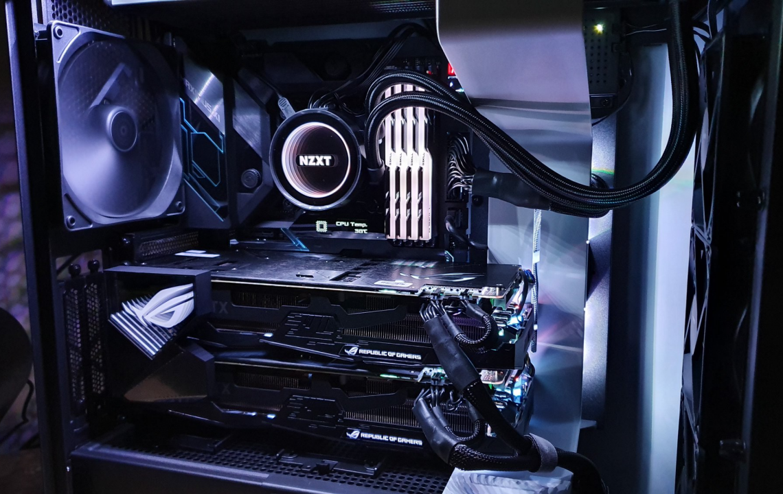 MONSTER PROJECT - DUAL 2080TI GAMING RIG